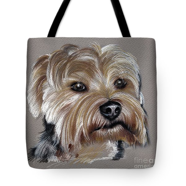 Yorkshire Terrier- Drawing Tote Bag