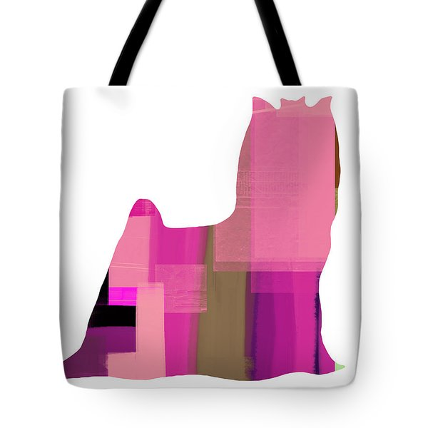 Yorkshire Terrier Tote Bag by Naxart Studio