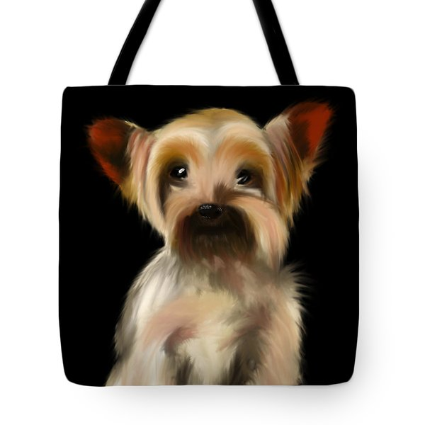 Yorkshire Terrier Pup Tote Bag