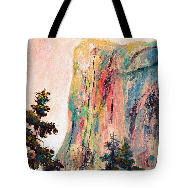 Yosemite El Capitan Tote Bag by Carolyn Jarvis