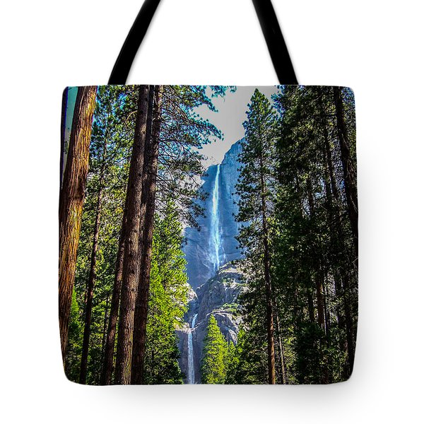Tote Bag featuring the photograph Yosemite Falls by Dany Lison