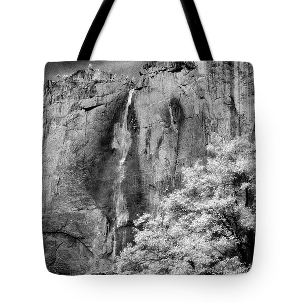 Tote Bag featuring the photograph Yosemite Falls by Mark Greenberg