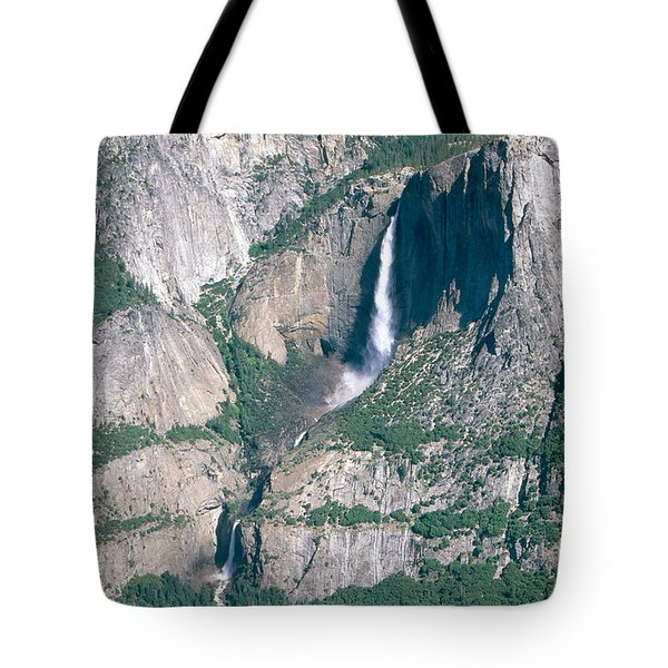 Yosemite Falls Tote Bag by Mark Newman