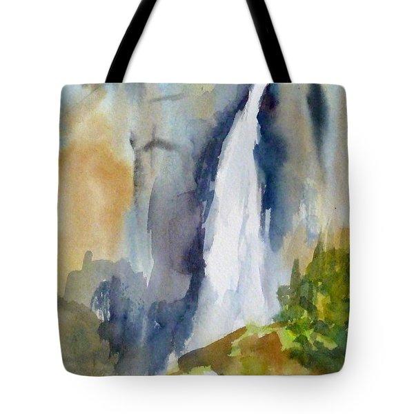Yosemite Falls Springtime Tote Bag