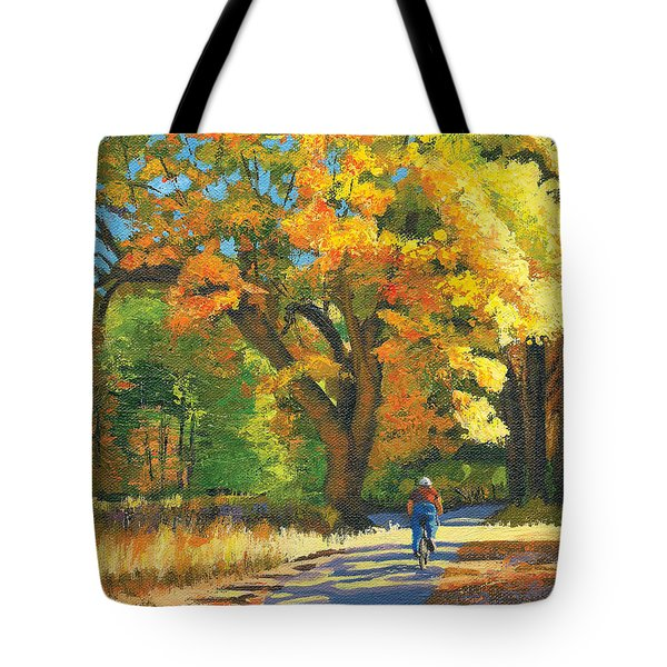 Yosemite In Autumn Tote Bag by Alice Leggett