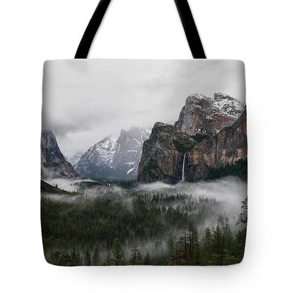 Yosemite Tote Bag by Jay Seeley