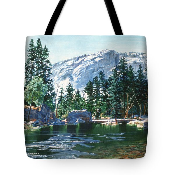 Yosemite Mirror Lake Tote Bag