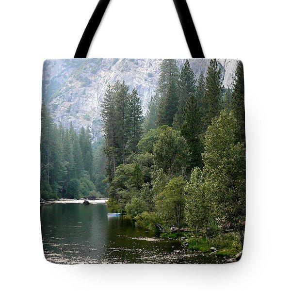 Yosemite National Park Tote Bag by Laurel Powell