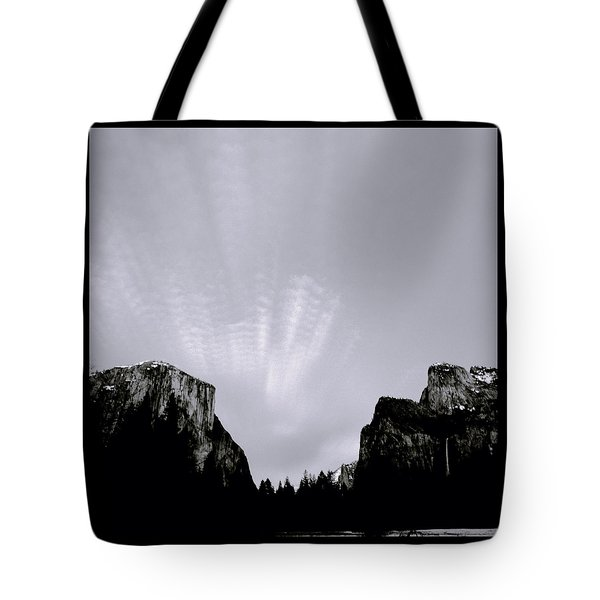 Yosemite National Park Tote Bag by Shaun Higson
