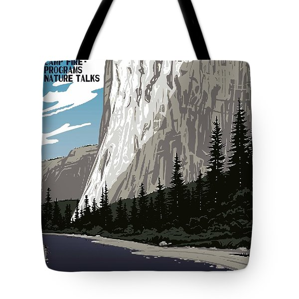 Yosemite National Park Vintage Poster 2 Tote Bag