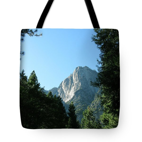 Yosemite Park Tote Bag by Mini Arora
