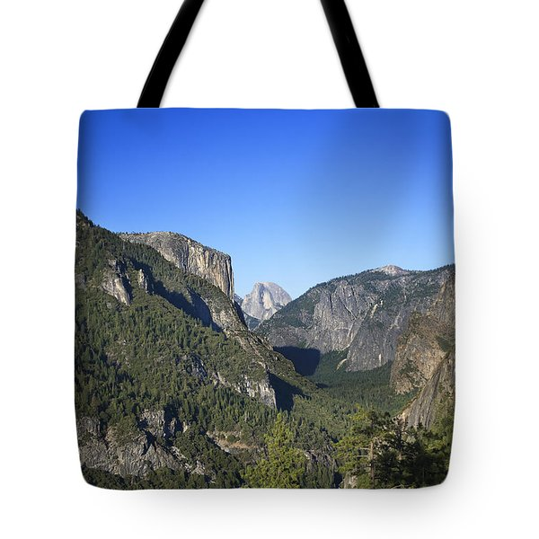 Yosemite Scenic Tote Bag by Charmian Vistaunet