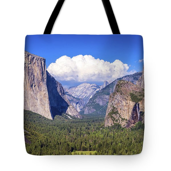 Yosemite Valley Beauty Tote Bag by Joseph S Giacalone