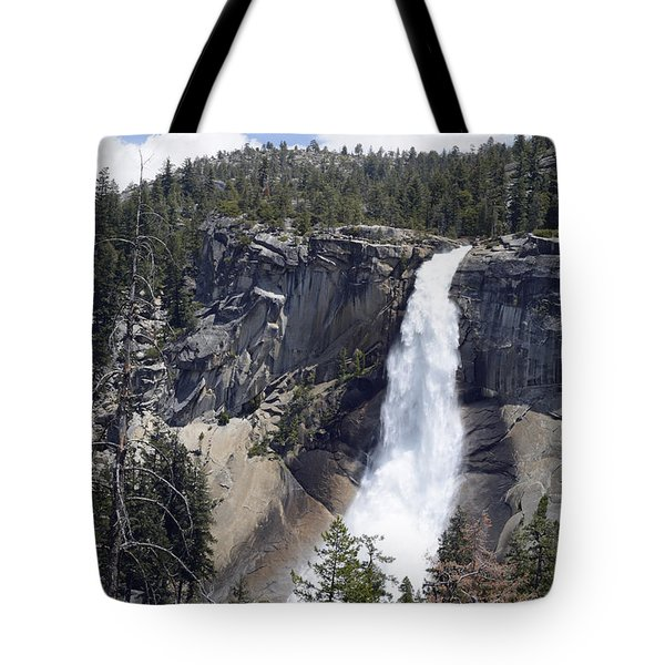 Yosemite's Nevada Fall Tote Bag by Bruce Gourley