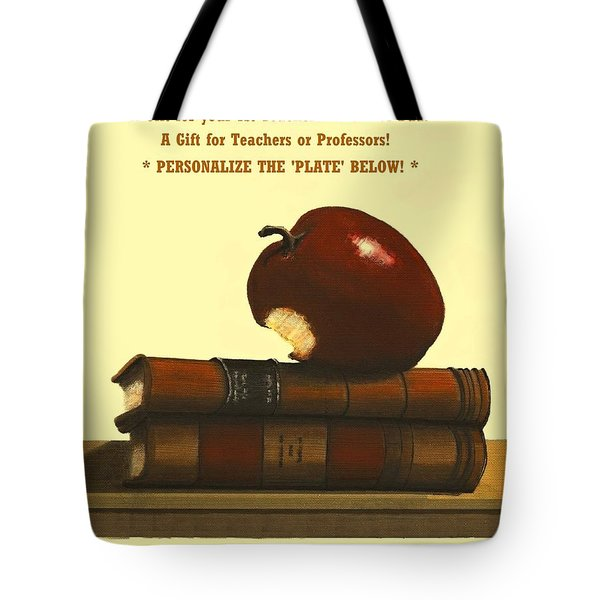 You Add Personalized Text On Plate  # 6 1 Tote Bag