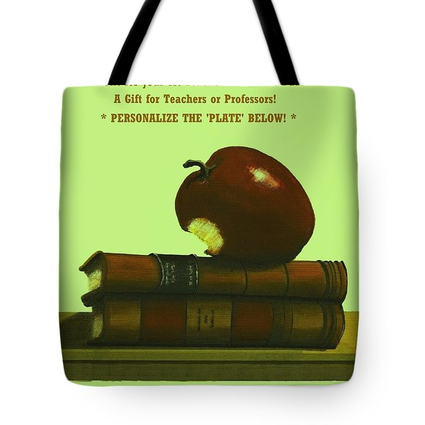 You Add Personalized Text On Plate  # 6 3 Tote Bag