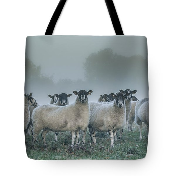 You And Ewes Army? Tote Bag by Chris Fletcher