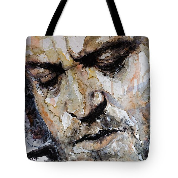 Tote Bag featuring the painting You Are So Beautiful by Laur Iduc