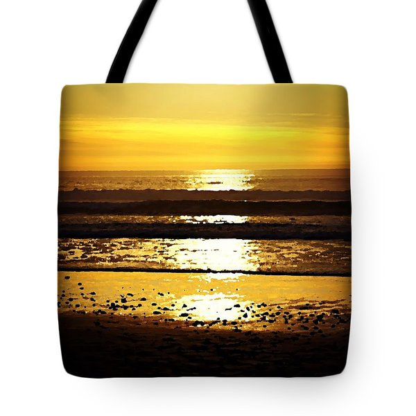 You Are The Salt Of The Earth And The Light Of The World Tote Bag by Sharon Soberon