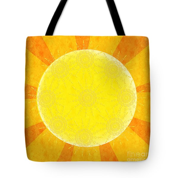 You Are The Sunshine Of My Life Tote Bag by Andee Design