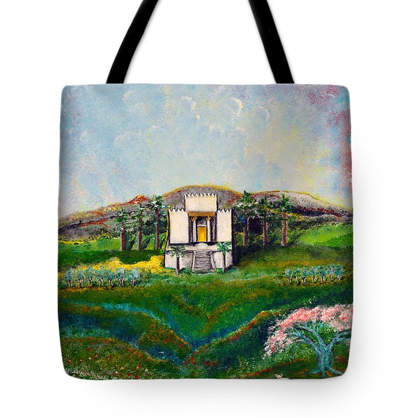 You Are The Temple Of God Tote Bag
