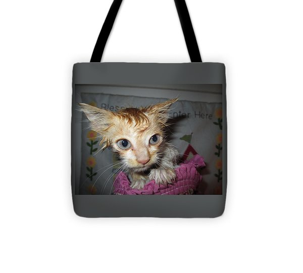 You Call This A Rescue? Tote Bag by Diannah Lynch