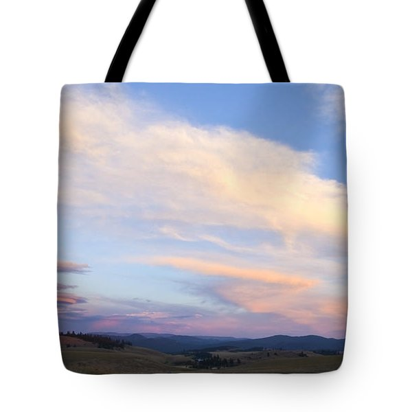 You Can Almost Hear Them Singing Tote Bag by Theresa Tahara