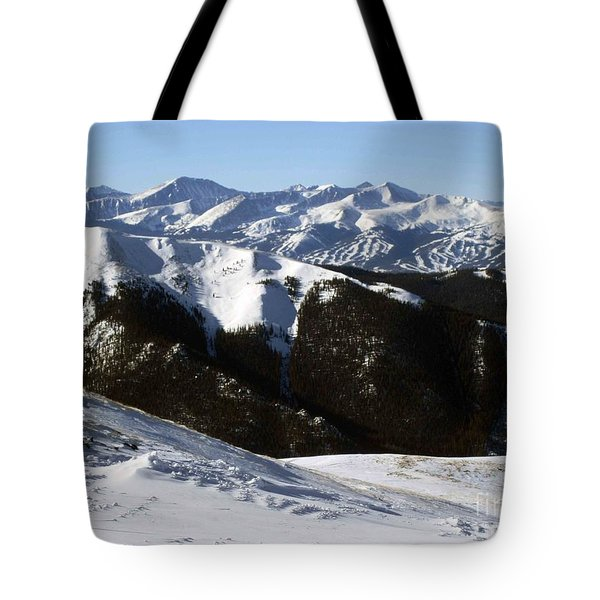 You Can See Forever Tote Bag by Fiona Kennard