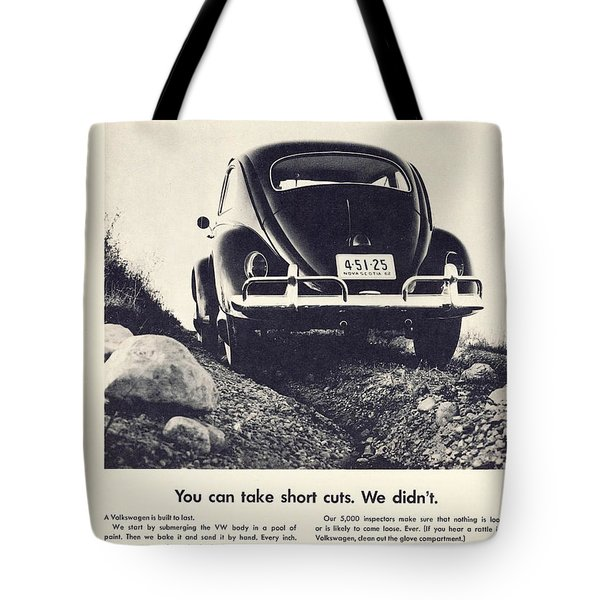 You Can Take Short Cuts. We Didn't Tote Bag by Georgia Fowler
