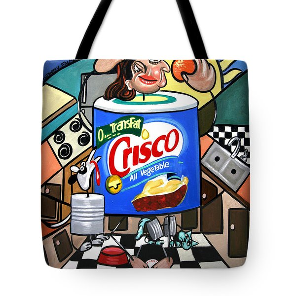 You Can't Pick Your Own Can Tote Bag by Anthony Falbo