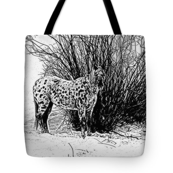 You Can't See Me Tote Bag by Karen Shackles