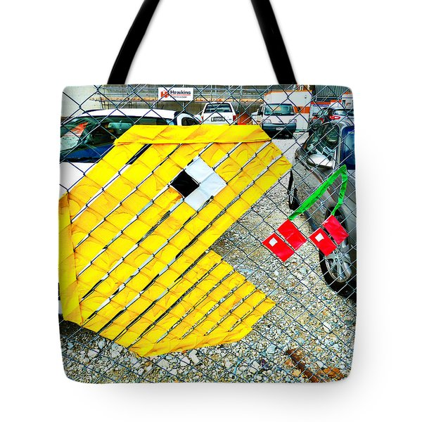 You Could Be Next  Tote Bag by Steve Taylor