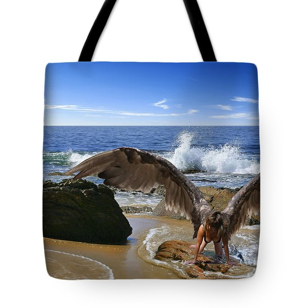 You Cried Out And I Came Tote Bag