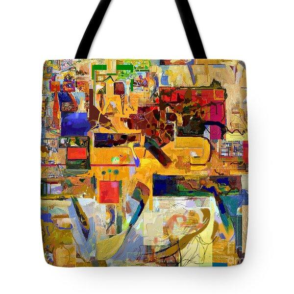 You Graciously Endow Man With Wisdom 16f Tote Bag by David Baruch Wolk