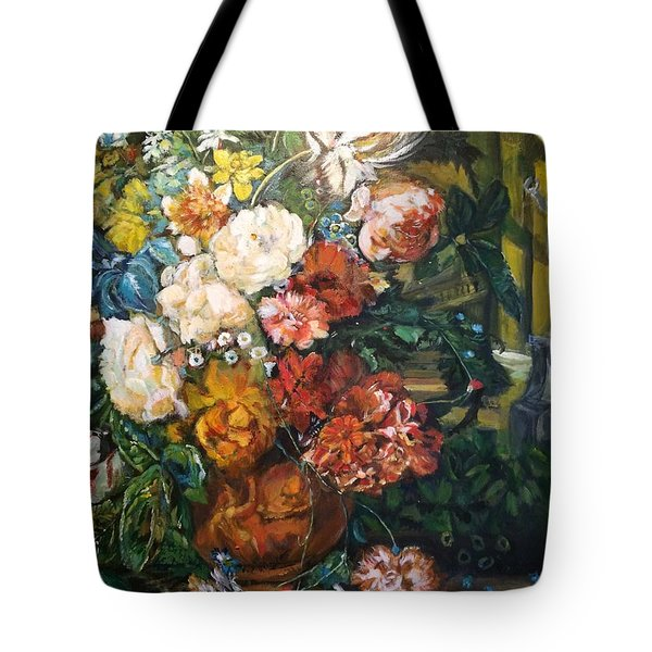 Tote Bag featuring the painting You Light Up My Life by Belinda Low