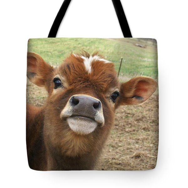 You Looking At Me Tote Bag by Sara  Raber