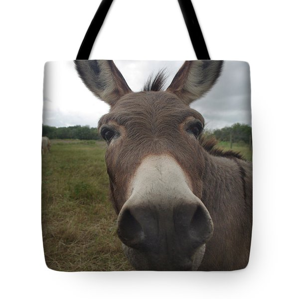 Tote Bag featuring the photograph You Looking At My Woman by Peter Piatt