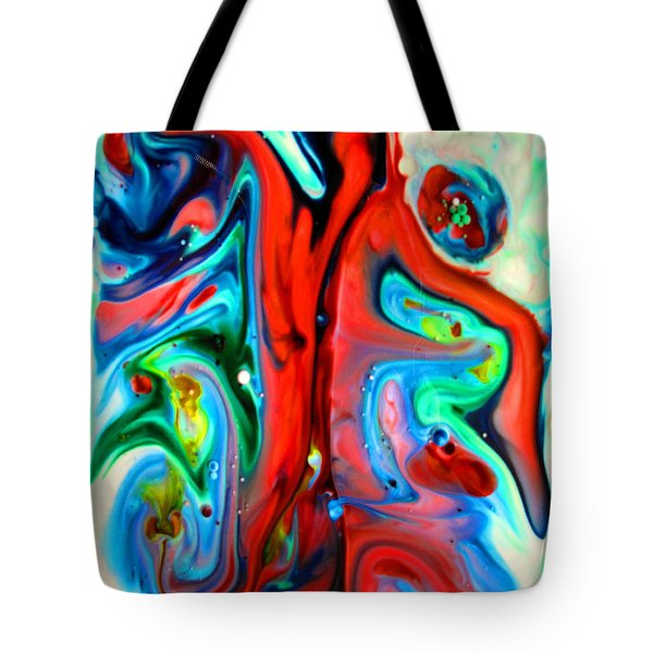 Tote Bag featuring the painting You Make Me Feel Like Dancing by Joyce Dickens