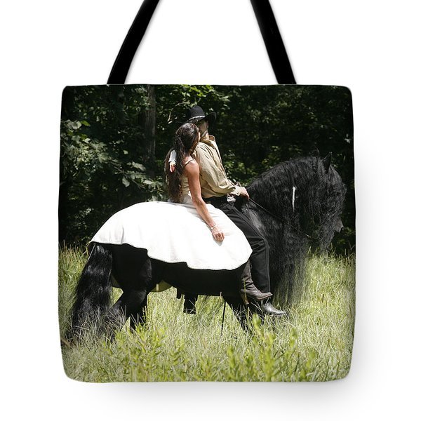 Tote Bag featuring the photograph You May Kiss The Bride by Carol Lynn Coronios