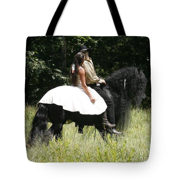 You May Kiss The Bride Tote Bag