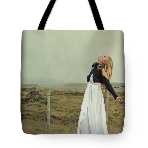 You Raise Me Up Tote Bag by Evelina Kremsdorf
