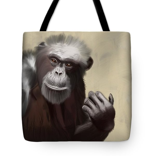 You Say Something Tote Bag