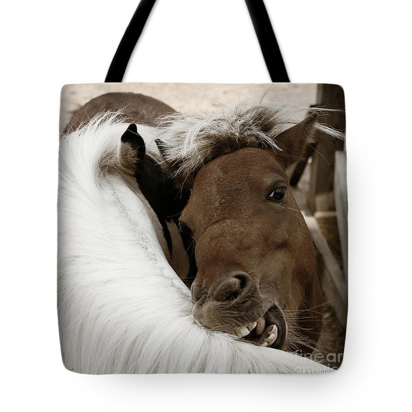 You Scratch Mine Tote Bag