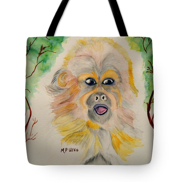 You Silly Monkey Tote Bag