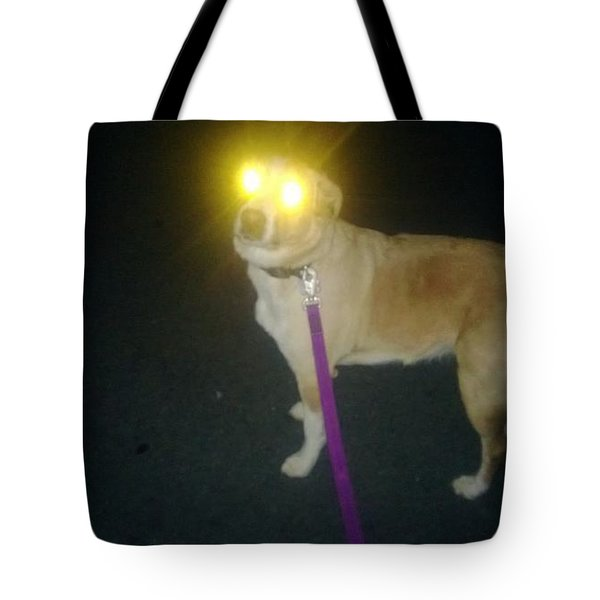 You Will Take Me For A Walk Tote Bag by Carlee Ojeda