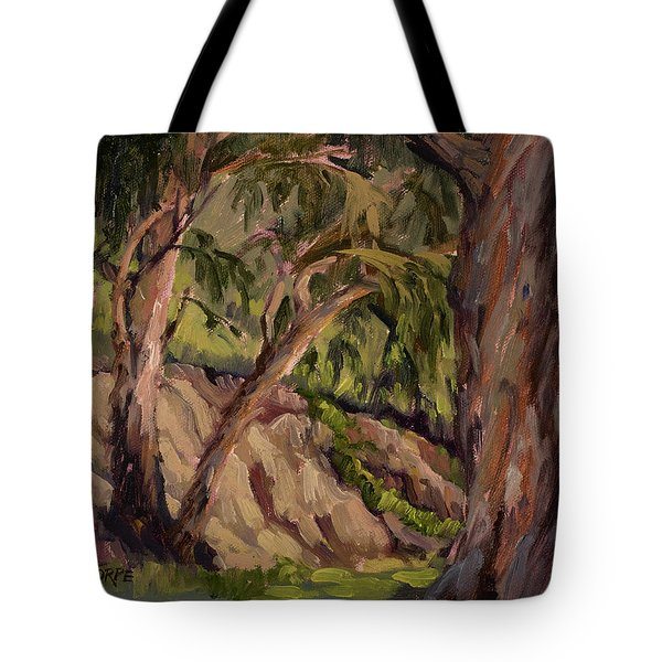 Young And Old Eucalyptus Tote Bag