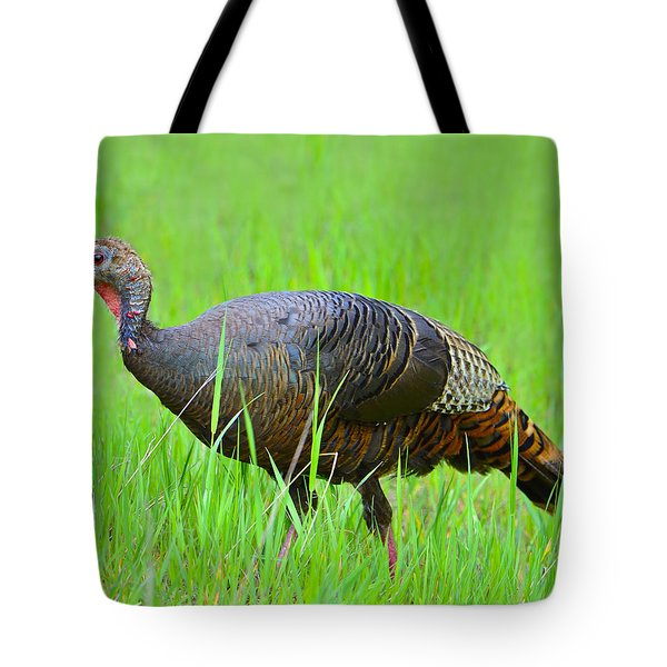 Young And Wild Tote Bag by Tony Beck