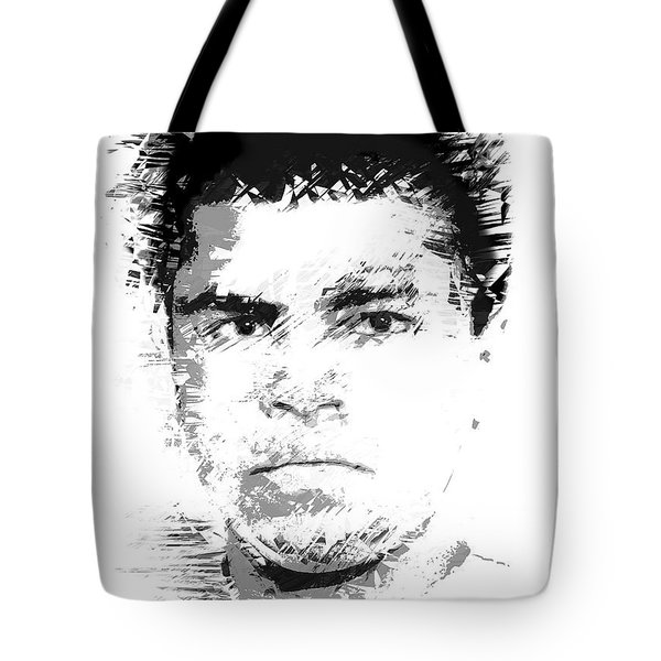 Young Cassius Clay Tote Bag by Daniel Hagerman