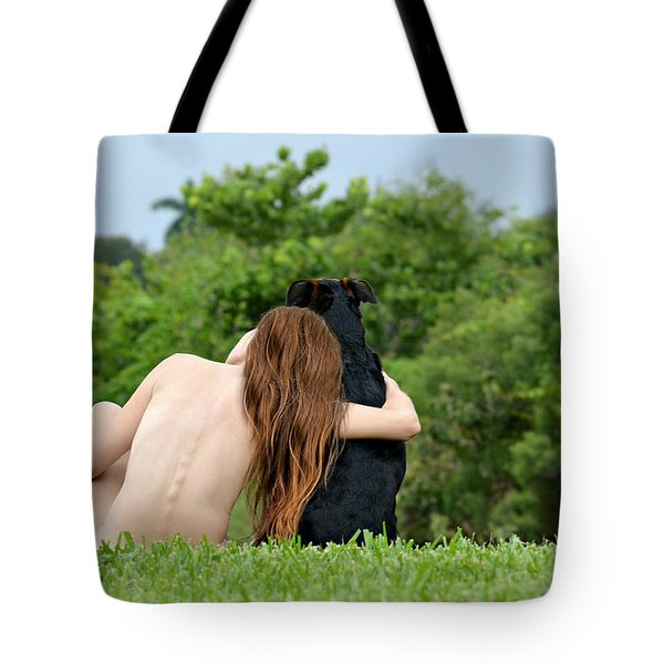 Young Earth Tote Bag by Laura Fasulo