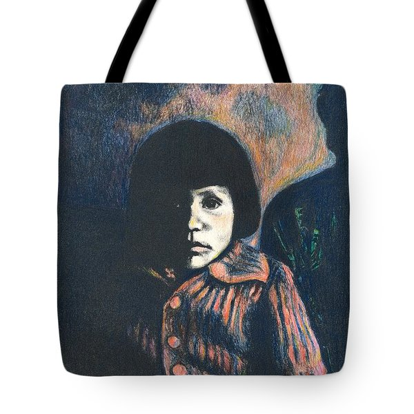 Young Girl Tote Bag by Kendall Kessler